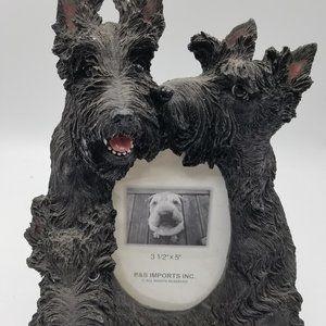 Scottish Terrier Resin Picture Frame 3.5 x 5